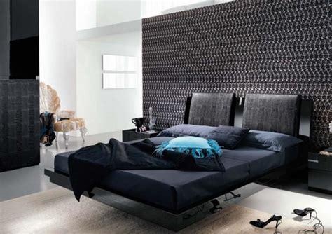 black and bedroom ideas black interior bedroom design ideas mosaic wallpaper