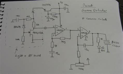 photodiode light detector circuit alan yates 39 laboratory photodiode gamma ray detector