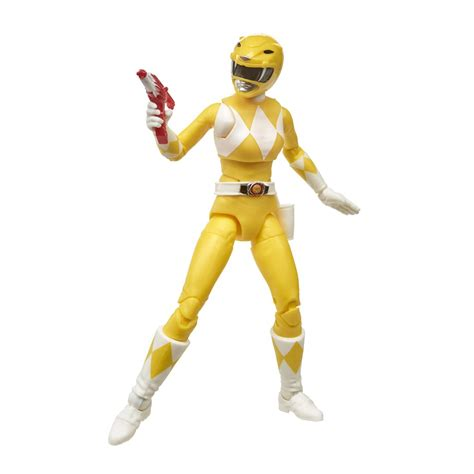 Power Rangers Lightning Collection Mighty Morphin Yellow ...