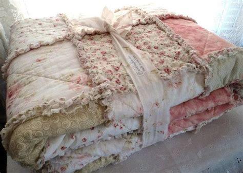 shabby chic rag blanket shabby chic romantic cottage rag quilt honeybees dots swirls blanket pristine roses backed