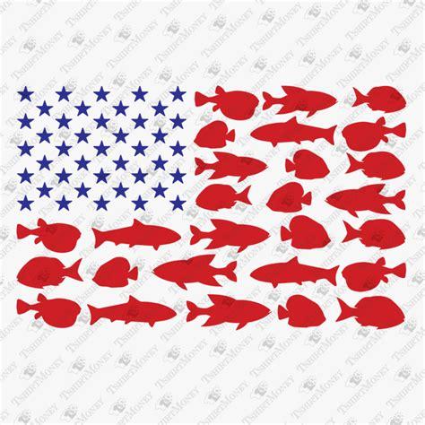 Guns and amercan flag svg. USA Fisherman Flag SVG Cut File   TeeDesignery.com