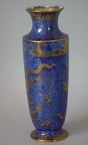 Wedgwood Dragon Lustre Vase