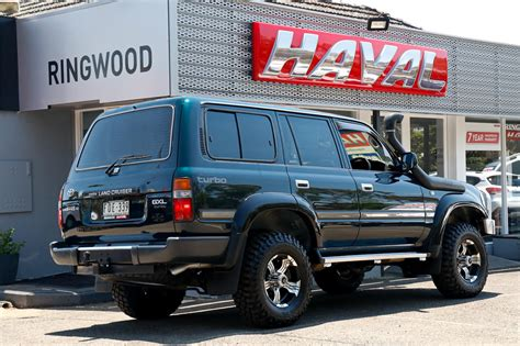You could drop it off a building or leave it in baghdad for a year. 1994 Toyota Landcruiser Hdj80r Manual Wagon - JFFD5075818 ...