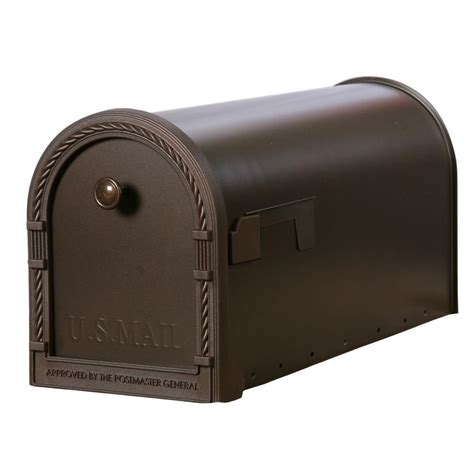 wall mount mailbox home depot gibraltar mailboxes designer steel post mount mailbox with
