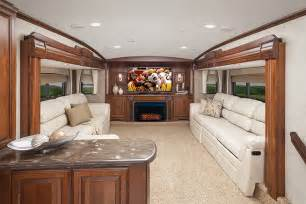 the trend in fifth wheels brings the lounge upstairs www trailerlife