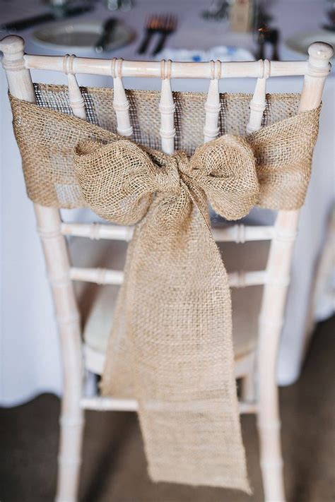 Best 25 Wedding Chair Bows Ideas On Pinterest Simple