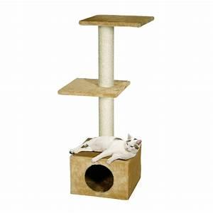 Arbre A Chaton : arbre chat 2 niveaux smaragd accessoires chat animal ~ Premium-room.com Idées de Décoration