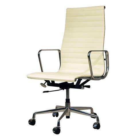fauteuil bureau eames charles eames chaise de bureau ea119 design chaise de