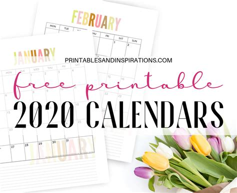 calendar printable planner   ultimate list