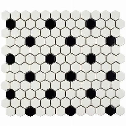 Mosaic Porcelain Tile Retro