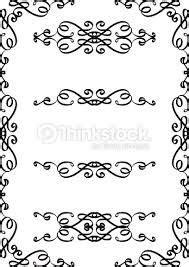 Resultado de imagem para moldura arabesco vetor