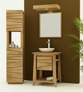 achat meuble salle de bain teck palma choisissez la With meuble salle de bain teck 60 cm