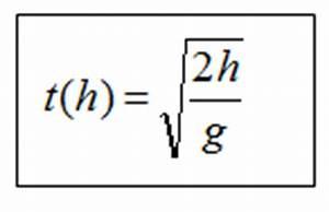 Km H Berechnen Formel : den freien fall berechnen ~ Themetempest.com Abrechnung