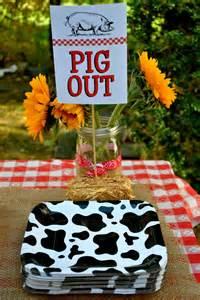 Farm Animal Birthday Party Ideas