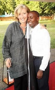 Emma Thompson's pride as 'adopted' Rwandan refugee son ...