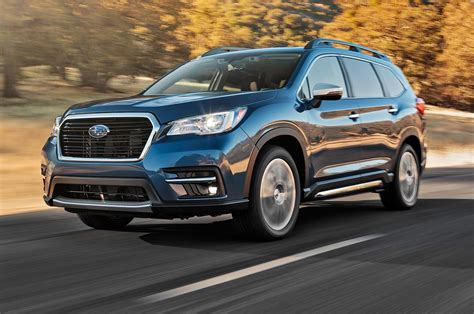 subaru ascent reviews  rating motor trend