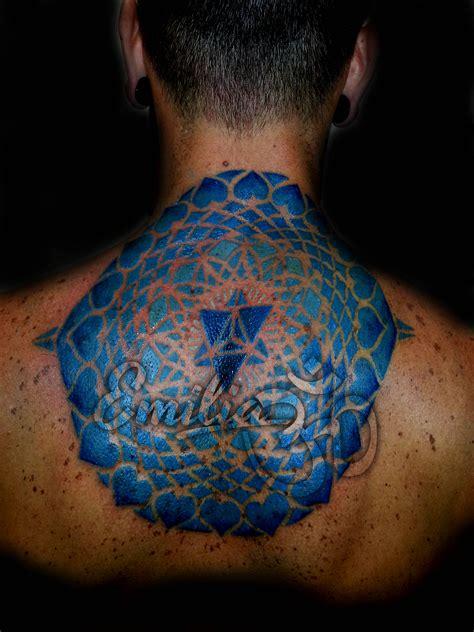 Back Tattoo Mockup
