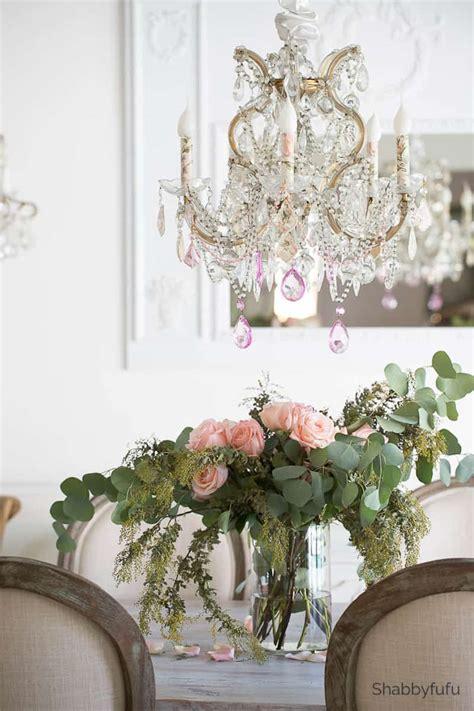 easy diy chandelier makeover ideas  spring shabbyfufucom