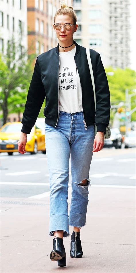 Karlie Kloss Chic Street Style Instyle