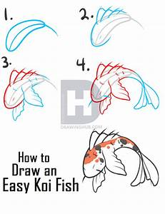 Pictures: Koi Fish Drawing Step By Step, - Drawings Art ...