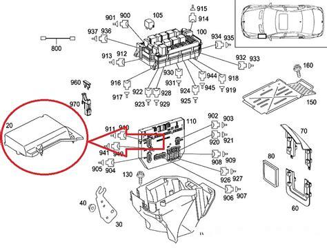 Mercedes Benz Fuse Box Diagram Auto