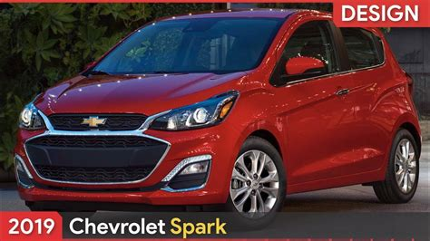 2019 Chevrolet Spark Updated Design And New Active Safety