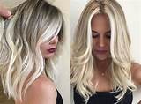 Medium blonde hair styles