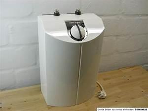 Stiebel Eltron Untertischgerät : stiebel eltron snu 5 s 5 liter untertischger t boiler guter zustand ebay ~ Watch28wear.com Haus und Dekorationen