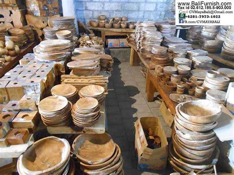 teak wood plates bali indonesia