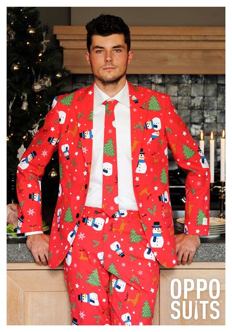 men s opposuits red christmas suit