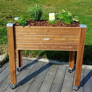 Geotextile Pour Carré Potager : bac herbes aromatiques jardini re sur lev e papycool ~ Melissatoandfro.com Idées de Décoration