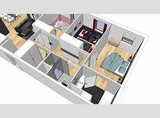 Alix Delclaux Architecte Interieur, Animation plan 3D