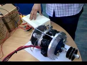 Motor El U00c9ctrico Axial Argentino  Prototipo  Para Veh U00edculos