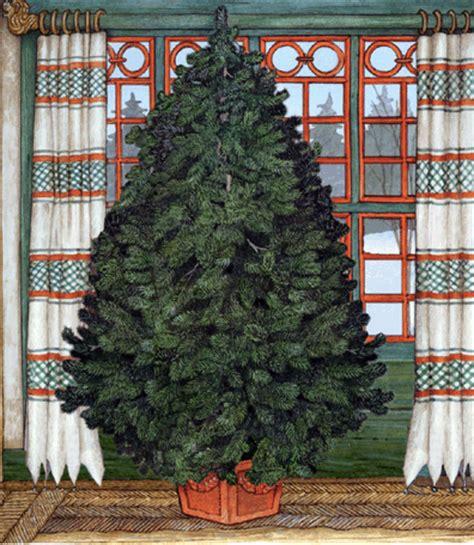 trim a jan brett christmas tree