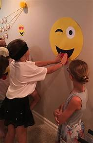 Emoji Girls Birthday Party Games
