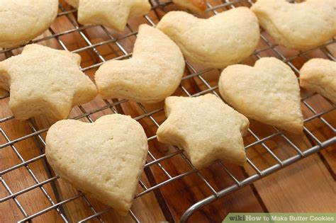 how to make cookies how to make butter cookies 13 steps with pictures wikihow