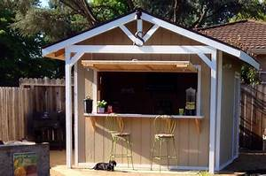 How, To, Make, A, Bar, Shed, From, A, Backyard, Garden, Shed
