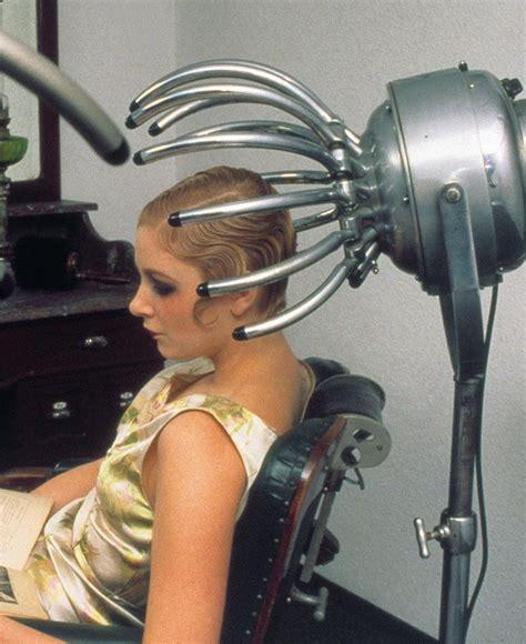 hairdryer advertisement vintage hair salons