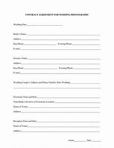 best 25 photography contract ideas on pinterest With free wedding contract forms