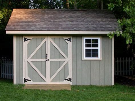 10x14 Shed Plans Pdf by Backyard Storage Shed Plans How To Build Diy By