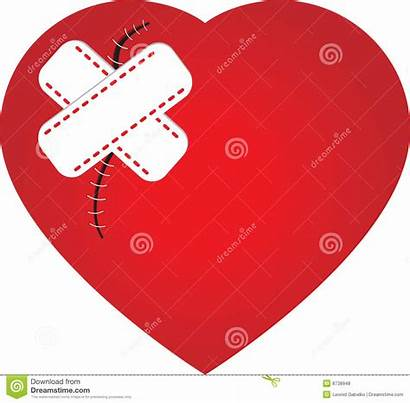 Scar Heart Scars Clipart Plaster Clipground Royalty