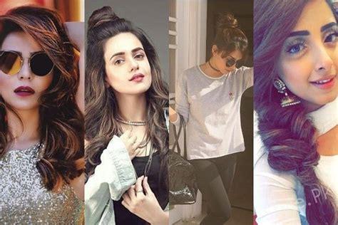 pakistani actress long hair best hairstyles of pakistani actresses
