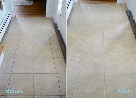 homemade diy grout cleaner
