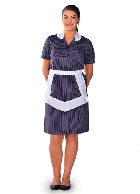 femme de chambre blouse femme de chambre à manches courtes rayure carlton