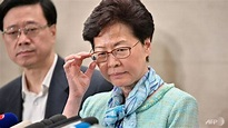 Hong Kong leader condemns 'extremely violent' storming of ...