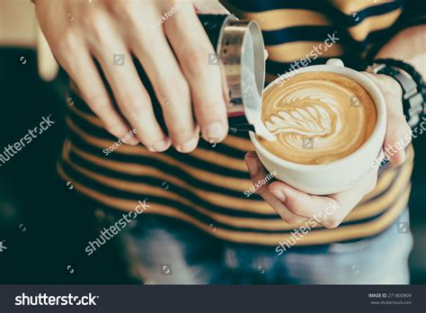 Latte Art Coffee Cup Vintage Effect Stock Photo 271800809 Coffee House Regina Cake Roll Recipe Deli Y�n Tinh No Oil Berlin Young Adults Vegan Uk