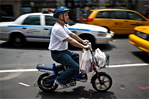 Battery Power Gives Deliverymen A Boost, At A Cost The