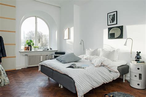 interiors home bedroom design in scandinavian style
