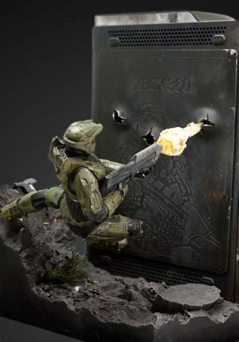 weta customized halo xbox marks millionth console sold in