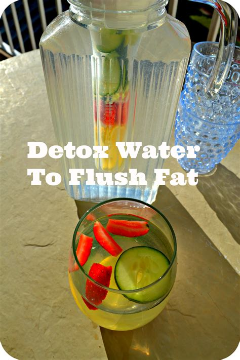 detox water flat belly  cleanse  system  fight